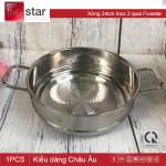 Xửng hấp Inox 2 quai 24cm Fivestar - Tân Hợp Thành