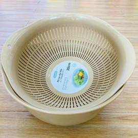 Bộ thau rổ cao cấp Inochi Yoko 30cm (giao màu ngẫu nhiên)