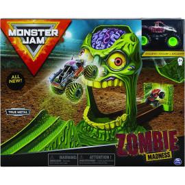 Bộ xe tải mô hình Monster Jam True Metal tỷ lệ 1:64 đối đầu Zombie Madness