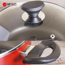 Bộ nồi chảo nhôm chống dính đáy từ Elmich EL-1162 hàng chính hãng