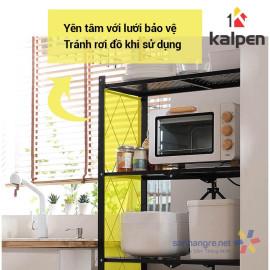 Kệ xếp gấp gọn di động thông minh Kalpen 3 tầng hàng xuất Nhật - 71.5x34x87cm