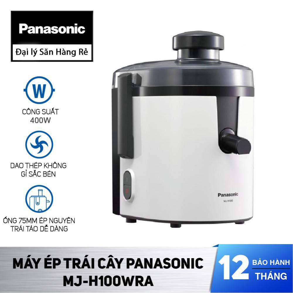 Máy ép trái cây Panasonic Nhật Bản MJ-H100WRA dung tích 1.7 lít sản xuất Malaysia - Bảo hành 12 tháng chính hãng