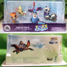 Bộ đồ chơi mô hình Phim hoạt hình Disney Junior T.O.T.S của Mỹ - Set 6 nhân vật Fullbox