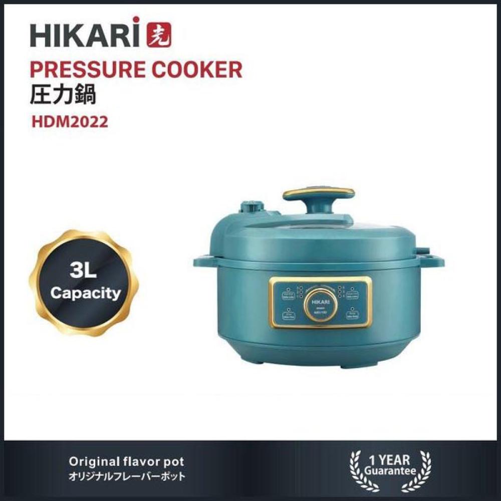 Nồi áp suất đa năng 3 lít Hikari Nhật Bản HDM 2022 - Bảo hành 12 tháng
