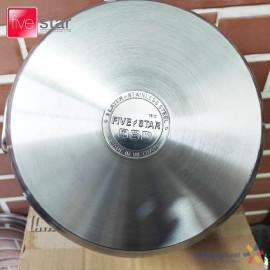 Nồi Inox 3 đáy Fivestar 26cm nắp inox - Hàng chính hãng, bảo hành 5 năm
