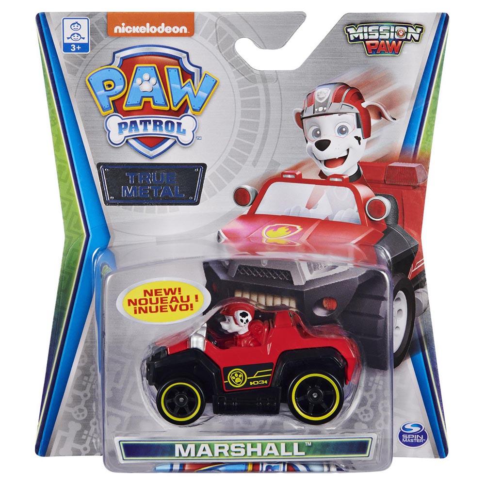Đồ chơi mô hình Xe cứu hộ Paw Patrol True Metal tỷ lệ 1:55 - Marshall Misson Paw