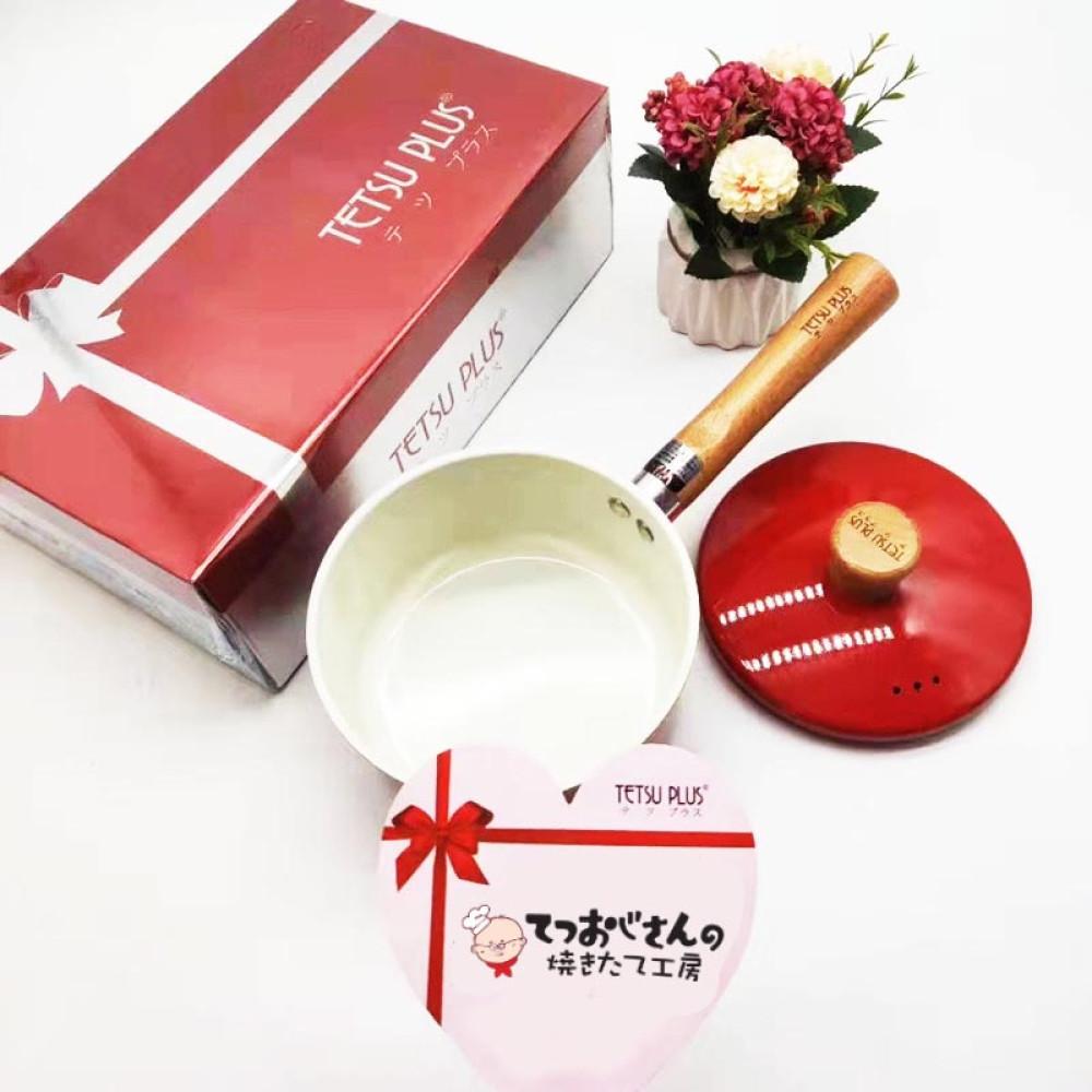 Quánh sứ cao cấp Tetsu Plus Nhật Bản 16cm dùng bếp từ - Hàng Nhật nội địa