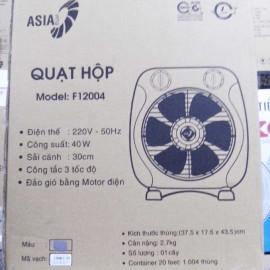 Quạt hộp tản gió Asia F12004 xuất xứ Việt Nam - Bảo hành chính hãng 24 tháng