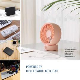 Quạt để bàn Calibra Desktop Fan QUAT330 - Dây cắm cổng USB