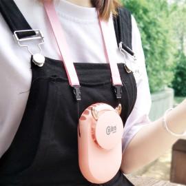 Quạt sạc mini đeo cổ thời trang Calibra CQ-E888 hàng chính hãng, bảo hành 12 tháng