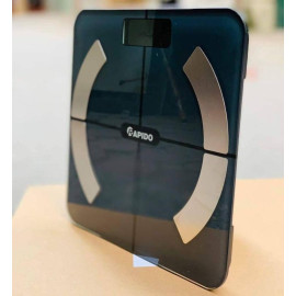 Cân sức khỏe điện tử thông minh Rapido RSB02-S có Bluetooth - Hàng chính hãng, bảo hành 12 tháng