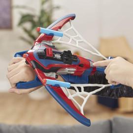 Đồ chơi Cung tên màng nhện bắn phi tiêu Nerf - Marvel Spider-Man