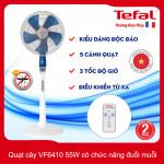 Quạt cây điều khiển từ xa Tefal VF6410-71 có chức năng đuổi muỗi - Hàng chính hãng, bảo hành 24 tháng
