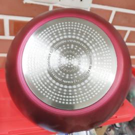 Chảo sâu lòng chống dính đáy từ Tefal Thermo Funsion Plus C68219722 đường kính 28cm - Made in France