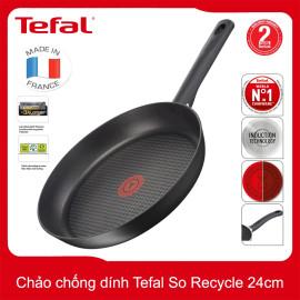 Chảo chống dính Tefal So Recycled G11004 đường kính 24cm - Made In France