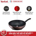 Chảo sâu lòng chống dính đáy từ 26cm Tefal Day By Day G1437705