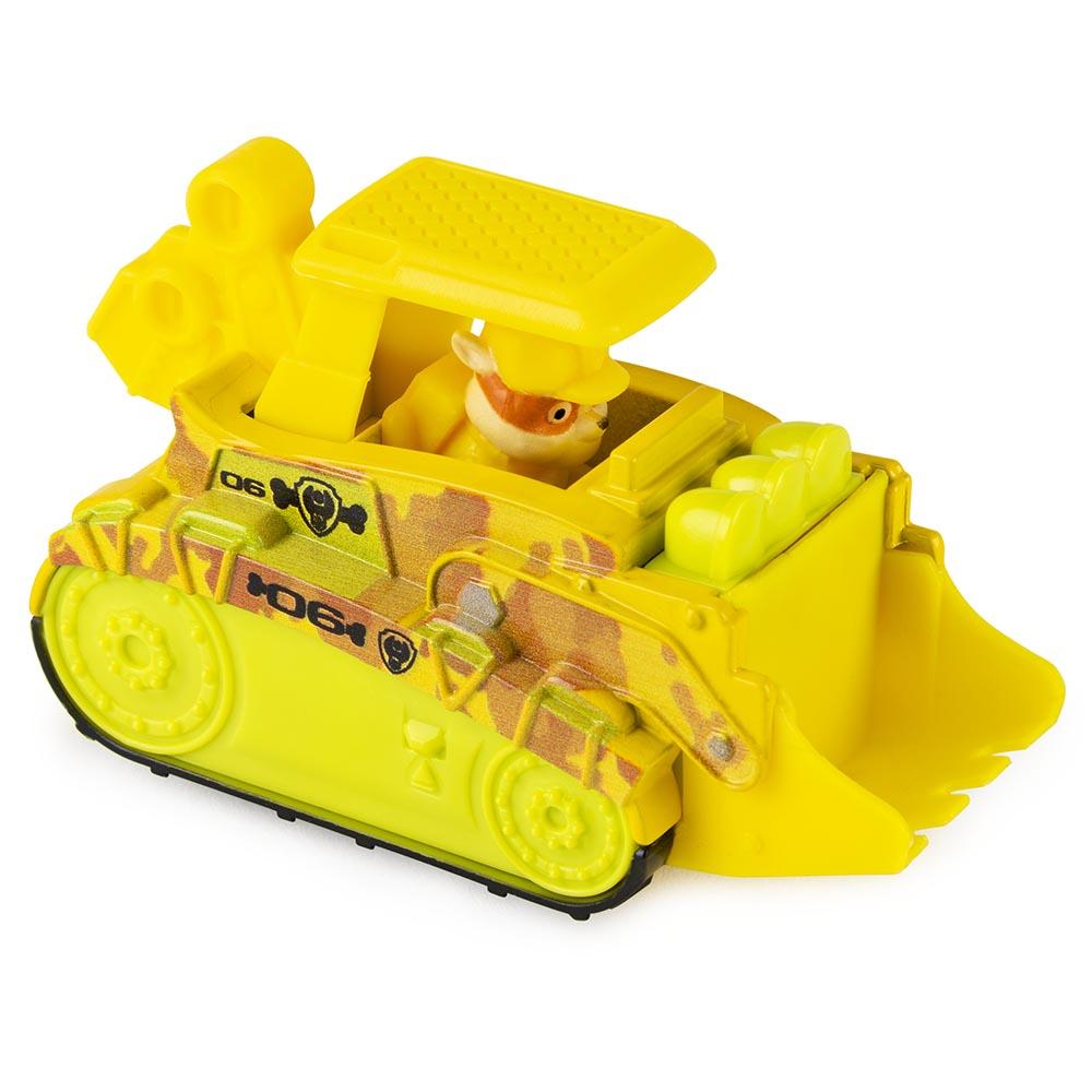 Đồ chơi Xe công trình chó cứu hộ Paw Patrol True Metal tỷ lệ 1:55 - Rubble Jungle (No Box)