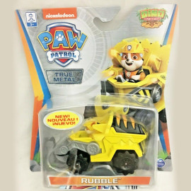 Đồ chơi mô hình Xe chó cứu hộ Paw Patrol True Metal tỷ lệ 1:55 - Rubble Dino Rescue
