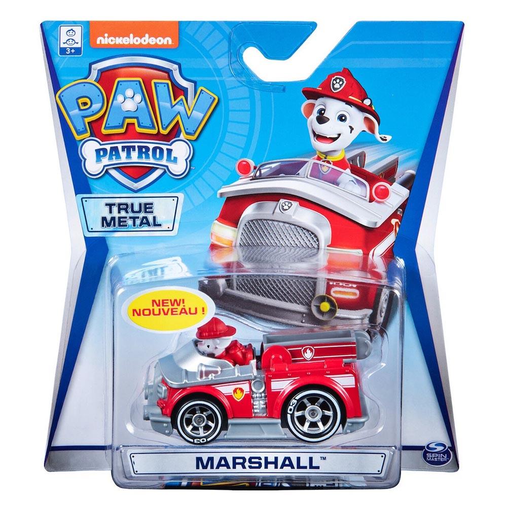 Đồ chơi mô hình Xe chó cứu hộ Paw Patrol True Metal tỷ lệ 1:55 - Firetruck Marshall 03
