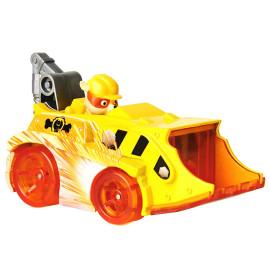Đồ chơi mô hình Xe tải công trình chó cứu hộ Paw Patrol True Metal Spark tỷ lệ 1:55 - Rubble tinh nghịch