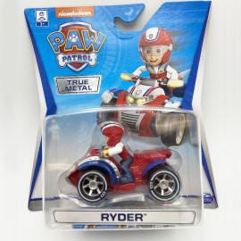 Đồ chơi mô hình Đội trưởng Ryder lái xe cứu hộ Paw Patrol True Metal tỷ lệ 1:55