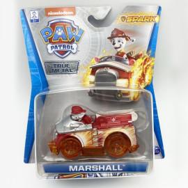 Đồ chơi mô hình Xe chó cứu hộ Paw Patrol True Metal Spark tỷ lệ 1:55 - Marshall nhanh nhẹn