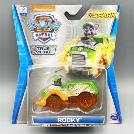 Đồ chơi mô hình Xe chó cứu hộ Paw Patrol True Metal Spark tỷ lệ 1:55 - Rocky sáng tạo