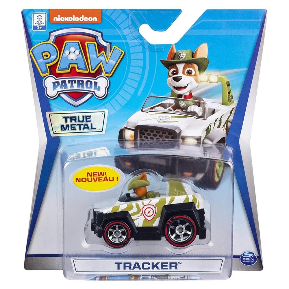 Đồ chơi mô hình Xe chó cứu hộ Paw Patrol True Metal tỷ lệ 1:55 - Tracker Jungle Cruiser