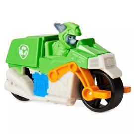 Xe mô tô cứu hộ Paw Patrol True Metal tỷ lệ 1:55 - Rocky phiên bản Moto Pups