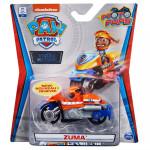 Xe mô tô cứu hộ Paw Patrol True Metal tỷ lệ 1:55 - Zuma phiên bản Moto Pups