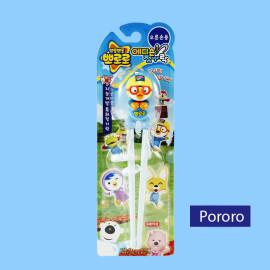 Đũa tập ăn cho bé Pororo hoạt hình 3D hàng Hàn Quốc