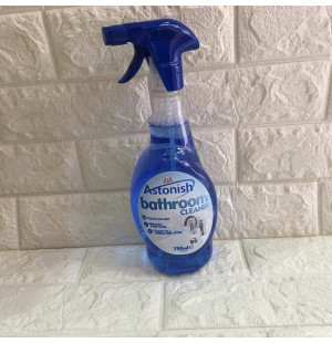 Chai xịt tẩy rửa nhà tắm Astonish C9716 750ml