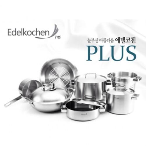 Bộ nồi Inox cao cấp xuất Hàn Edelkochen Plus