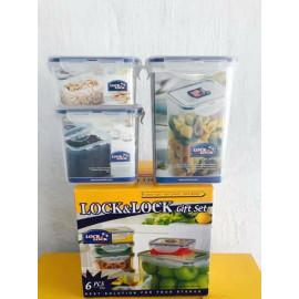Bộ 3 Hộp Nhựa Bảo Quản Thực Phẩm Lock&Lock HPL80983