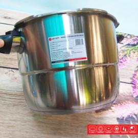 Nồi áp suất Inox 304 Elmich 20cm 4.0L EL3369 xuất xứ CH Séc tặng kèm giá hấp Inox, bảo hàng 25 tháng