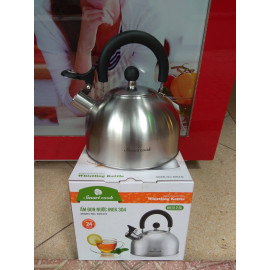 Ấm đun nước Inox 304 Elmich Smartcook 2.5L SM3372 dùng bếp từ
