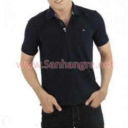 Áo thun Tommy Nam hàng Việt Nam xuất khẩu ( Tím đen )
