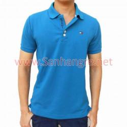 Áo thun Tommy Nam hàng Việt Nam xuất khẩu ( Xanh biển )