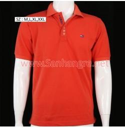 Áo thun Tommy Nam hàng Việt Nam xuất khẩu ( đỏ tươi )