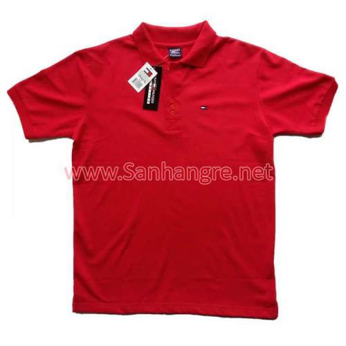 Áo thun Tommy Nam hàng Việt Nam xuất khẩu ( Đỏ )