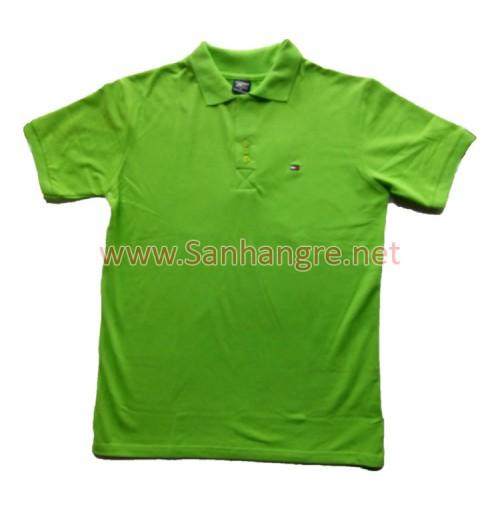 Áo thun Tommy Nam hàng Việt Nam xuất khẩu màu xanh lá