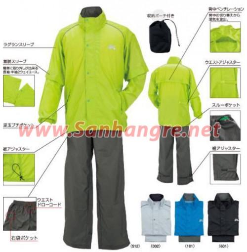 Bộ quần áo gió Nam Kasco xuất Nhật