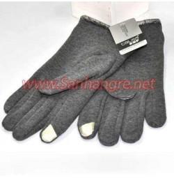 Găng tay nam cảm ứng lót lông