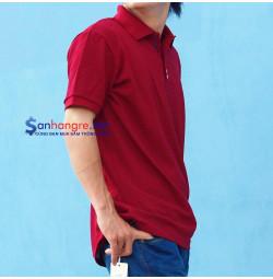 Áo thun Tommy Nam hàng Việt Nam xuất khẩu ( Đỏ đô )