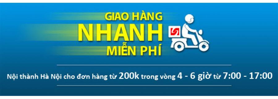 Giao hàng nhanh miễn phí Nội thành Hà Nội