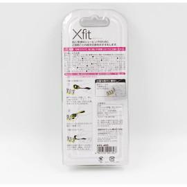 Dao Cạo Râu 5 Lưỡi Kép Kai Razor Nhật Bản Xfit XF5-4BS (1 Thân, 4 Lưỡi Thay Thế)
