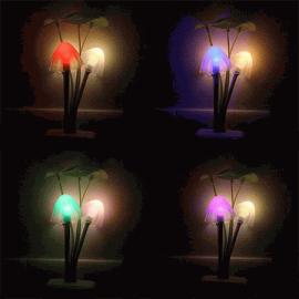 Đèn LED ngủ nấm cảm ứng ánh sáng OML - Tời tối tự động sáng, trời sáng tự động tắt