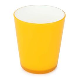 Cốc nhựa sắc màu 340ml Biozone BC-34 (Vàng)