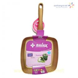 Chảo vuông chống dính vàng kim Aulux 24cm đáy từ