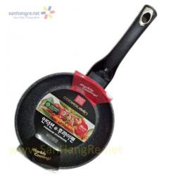 Chảo vân đá chống dính 20cm Cookqueen Hàn Quốc dùng bếp từ